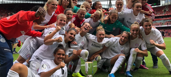 Bayern Frauen vince la Emirates Cup