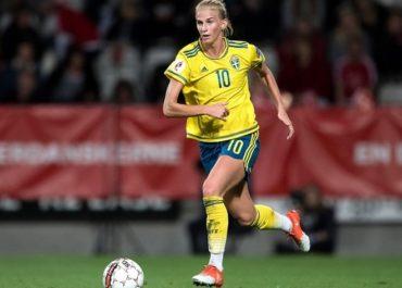 Jakobsson con la Svezia