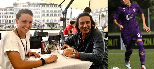Ilaria Mauro con Andrea Vidotti