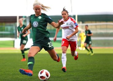 Pernille Harder del Wolfsburg