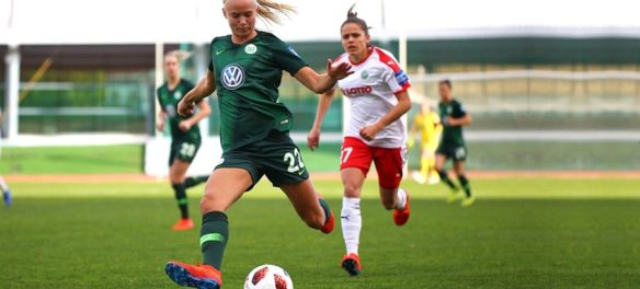 Pernille Harder del Wolfsburg