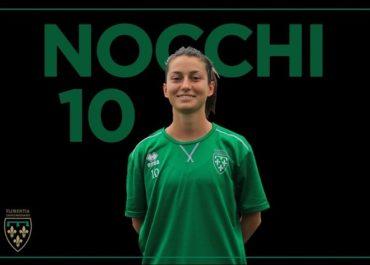 Isotta Nocchi con la maglia della Florentia San Gimignano