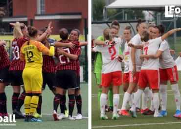 Milan e Juventus impegnate in amichevole