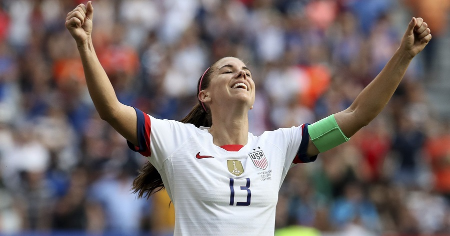Alex Morgan coppa del mondo