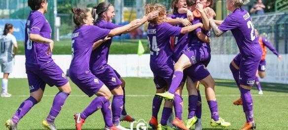 La squadra della Fiorentina Women's