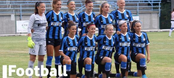 La formazione dell'Inter Women