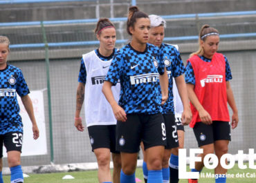Martina Brustia in allenamento