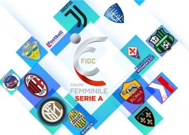 Le squadre della Serie A Calcio femminile