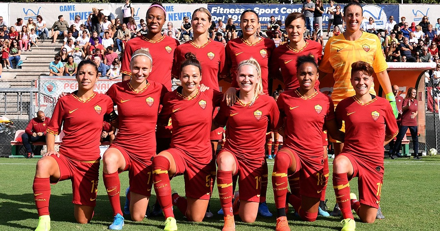 Formazione della AS Roma Femminile