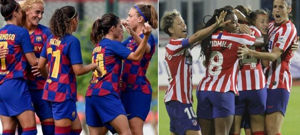big match barcellona femminile atletico madrid
