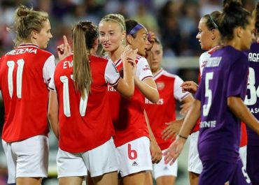 la squadra dell'Arsenal Women