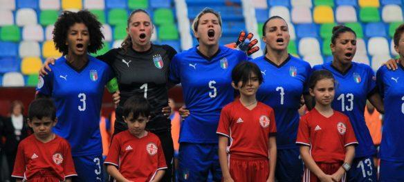 Pagelle Italia Calcio Femminile