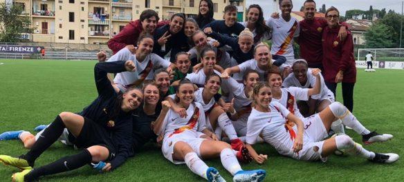 La Roma Femminile vince contro la fiorentna