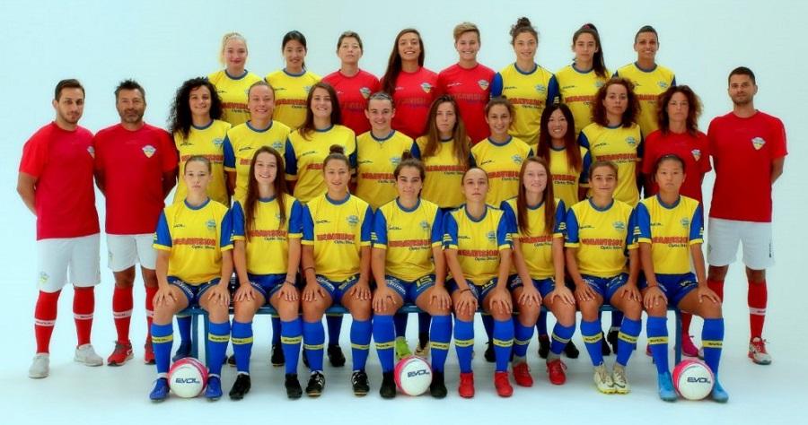 La squadra del Tavagnacco calcio femminile
