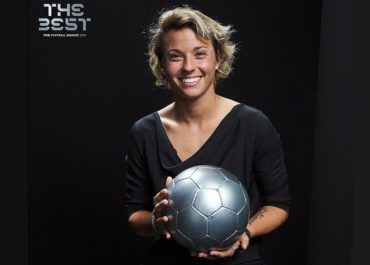 Valentina Giacinti al Fifa Best