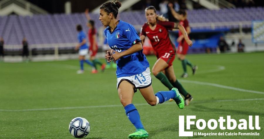 Elisa Bartoli con la nazionale
