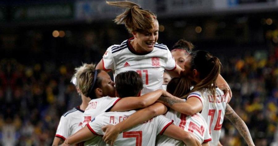 nazionale spagna calcio femminile