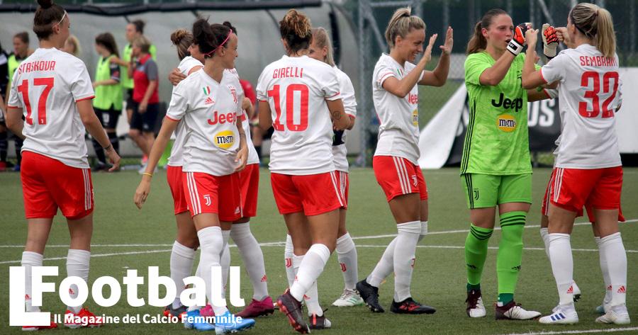 la Juventus pensa a uno stadio per la squadra femminile
