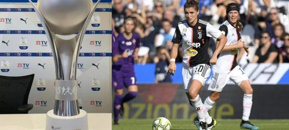 Cristiana Girelli Supercoppa Juventus Femminile