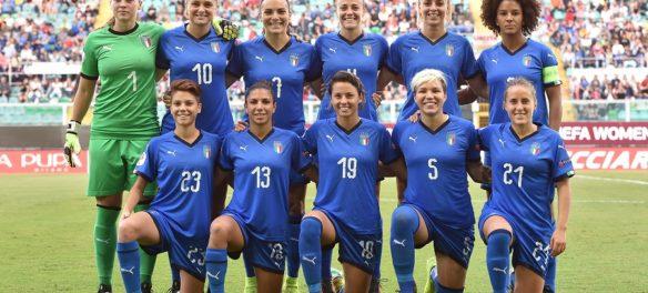 Nazionale italia calcio femminile