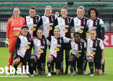 La formazione della Juventus Women