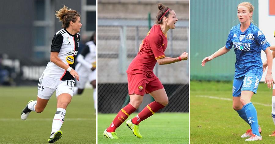 Tutte Le Pagelle Della Quinta Giornata Di Serie A Femminile L Football