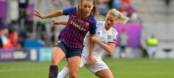 Lieke Martens e Amandine Henry in Women's Champions League