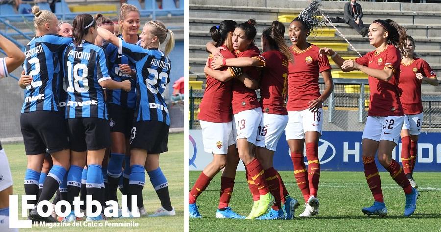 AS Roma Femminile e Inter Femminile