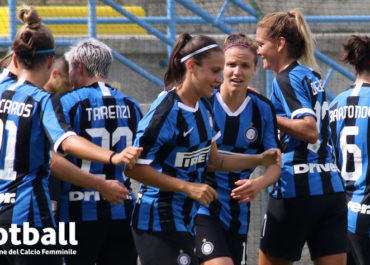 Le calciatrici dell'Inter