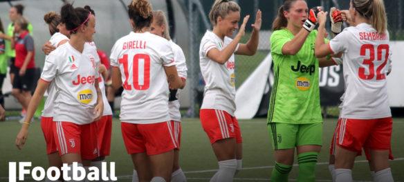 La squadra femminile della Juventus