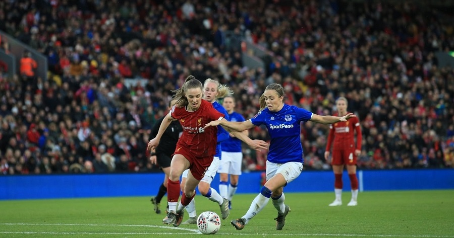 liverpool - women everton anfield