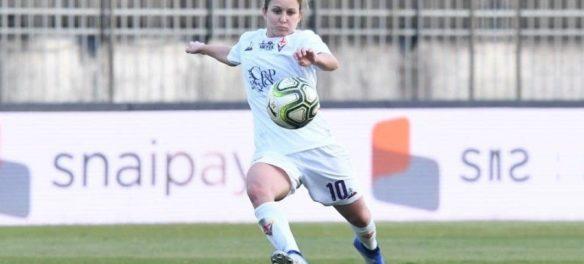 La calciatrice Tatiana Bonetti