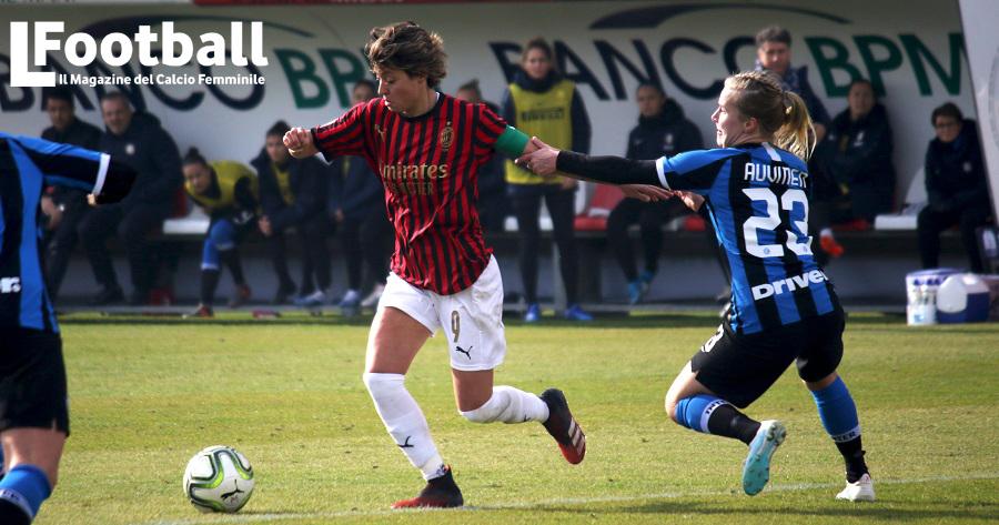 Valentina Giacinti Milan Serie A Femminile