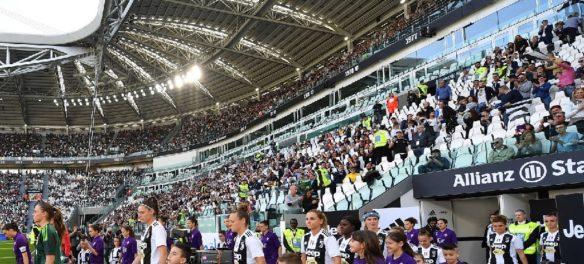 Juventus Women Fiorentina all'Allianz STadium