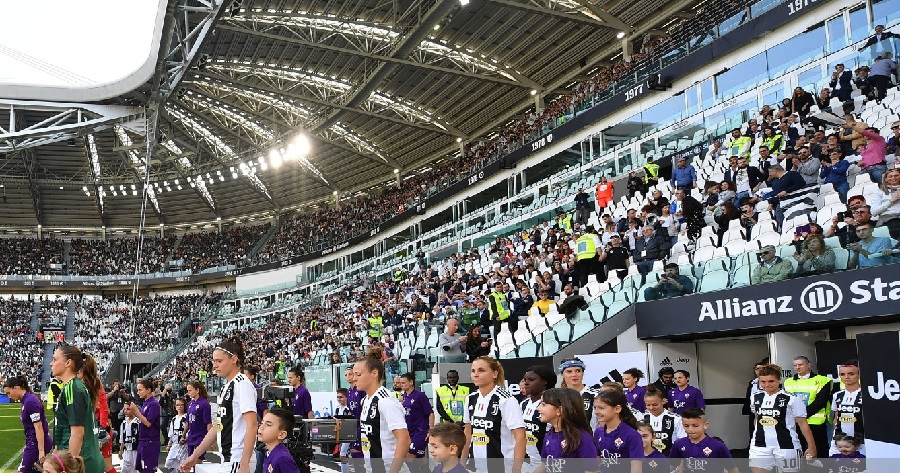 Juventus Women Fiorentina all'Allianz STadium