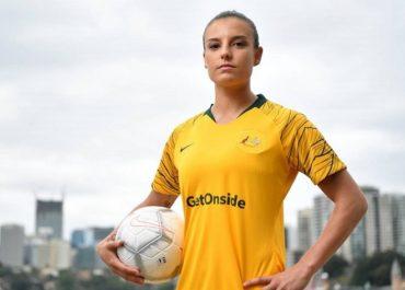 Chloe Logarzo calciatrice dell'Australia