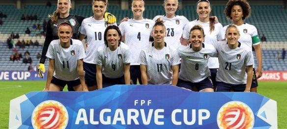 La formazione della Nazionale Italiana di calcio femminile