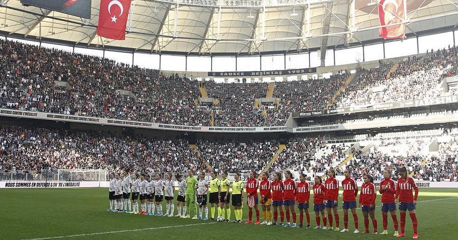 Amichevole in turchia di calcio femminile
