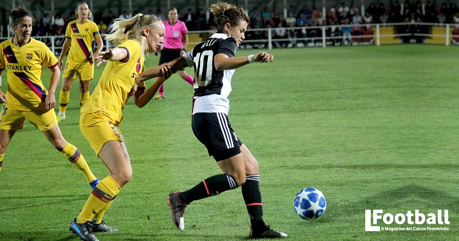 calcio femminile Girelli Juventus Barcellona