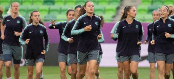 Allenamenti Barcellona Femminile