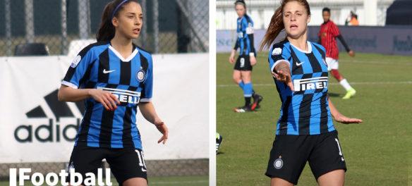 Beatrice Merlo ed Eleonora Goldoni