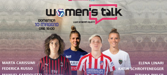 Calcio femminile streaming Women's Talk