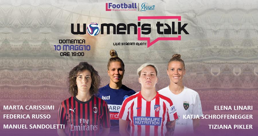 Calcio femminile streaming Women's Talk