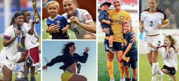 calcio femminile maternità