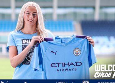 Chloe Kelly è una nuova giocatrice del Manchester City