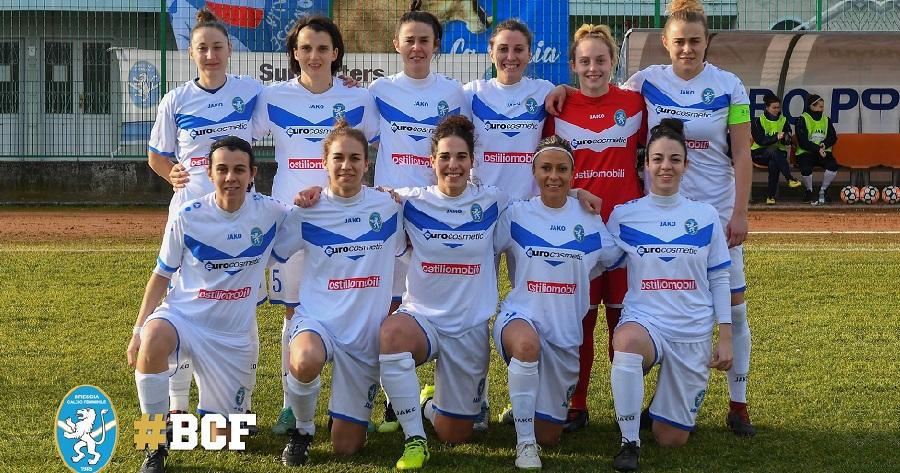 Il Brescia Calcio Femminile Promosso In Serie B L Football