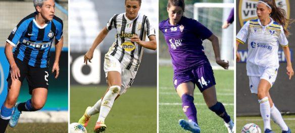 in diretta le partite Serie A femminile