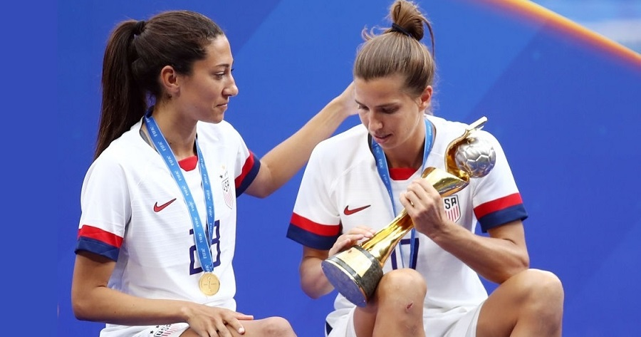 Tobin Heath Christen Press