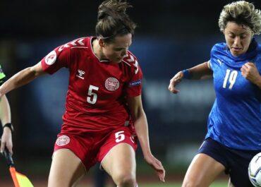 nazionale femminile Italia Danimarca