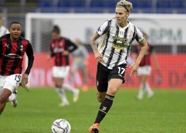 Lina Hurtig con la Juventus